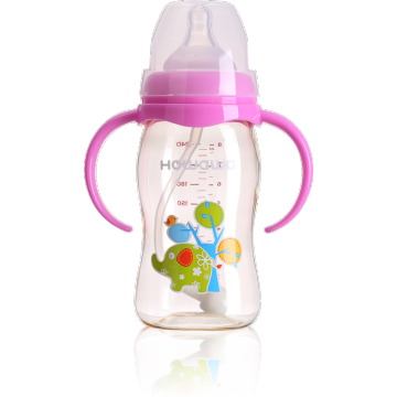 8oz PPSU Baby Nursing Bottle With Wide Neck