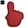 Red Color Promotion Event EVA Foam Cheering Finger
