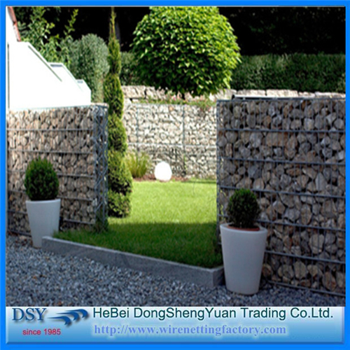 Gabion Retaining Wall/ Galvanized Welded Gabion Box