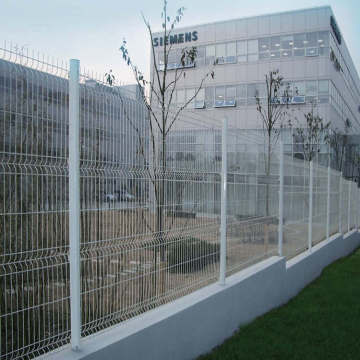 price 3D bending fence galvanized fence high quality