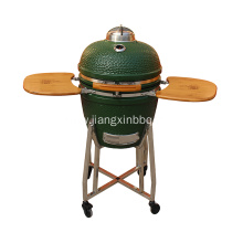 18 Inch Kamado Grill with Stainless Steel Leg
