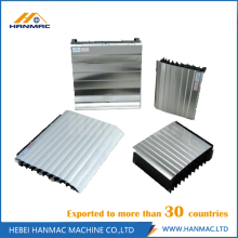 Best Quality for Rod Bellows Shield Cover Good Effect Armoured Accordion Protective Cover CNC Machine supply to Ethiopia Manufacturer