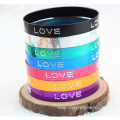 Wing Patterns Aluminium Alloy Bangles Wide Colorful Bracelet