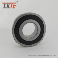 Rubber Seals Radial Ball Bearing 6307 2RS C4