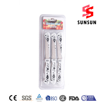 Frosted Stainless Steel Suits Knives