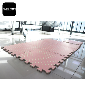 Pink Color Interlocking EVA Foam Play Mat