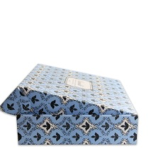 Corrugated paper cardboard shipping box