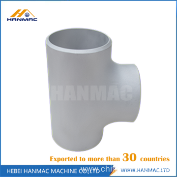 6061 alloy steel aluminum tee fitting pipe