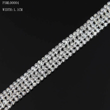 Jingling Hot sale rhinestone eyeglass chain