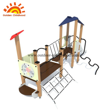 Hpl outdoor playgroud equipment climb net