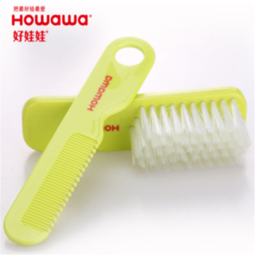 Baby Plastic Hair Washing Accessory Brush&Comb