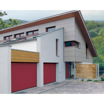 Aluminum Tempered PC Sheet Sectional Garage Door
