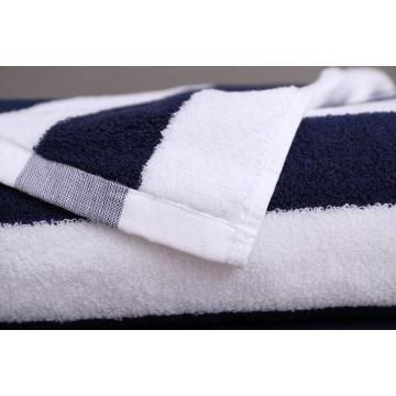 100% cotton striped beach towels