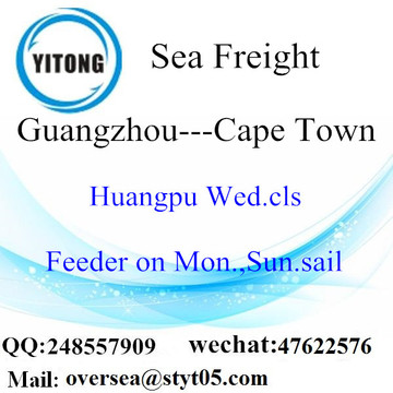 Guangzhou Port LCL Consolidation To Cape Town