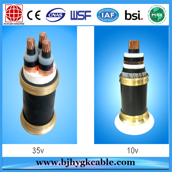 10KV-35KV XLPE INSULATED CABLE