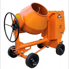 Tilting Drum Cement Concrete Mixer Machine