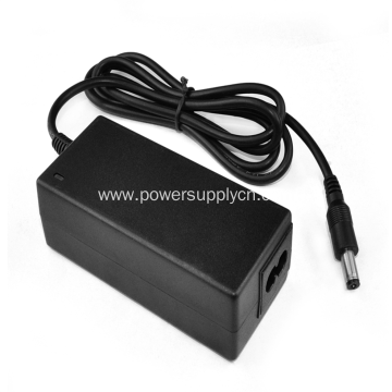 Single Sòti 24V6A Desktop Power adaptè