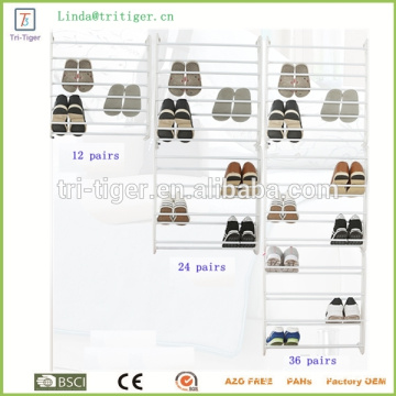24 Pairs 8 Tiers Over the Door Shoe Rack wall hanging