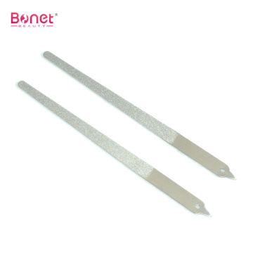 Stainless steel double sides nail pedicure file