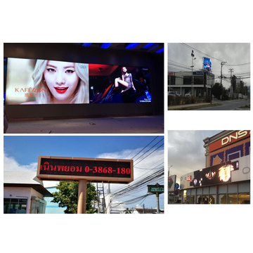 Outdoor P10 LED display screen