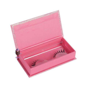 High Quality Cute Shiny Pink Eyelash Box