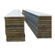 sound insualtion wall rock wool sandwich panel