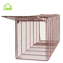 Bottom price for Large Animal Cage Live Coyote Cage Trap supply to Christmas Island Factory