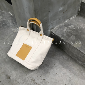 Canvas hand bill of lading shoulder slanting bag