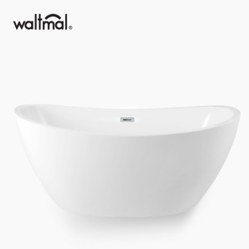 Acrylic Cozy Freestanding Bathtub in white