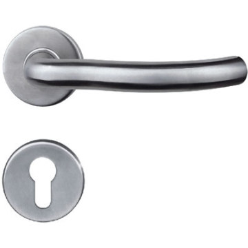 Polished Solid Casting  Door Handle