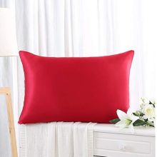 Special for Pillowcase Slips Mulberry Silk Solid Dyed Pillow Cases export to Spain Manufacturer