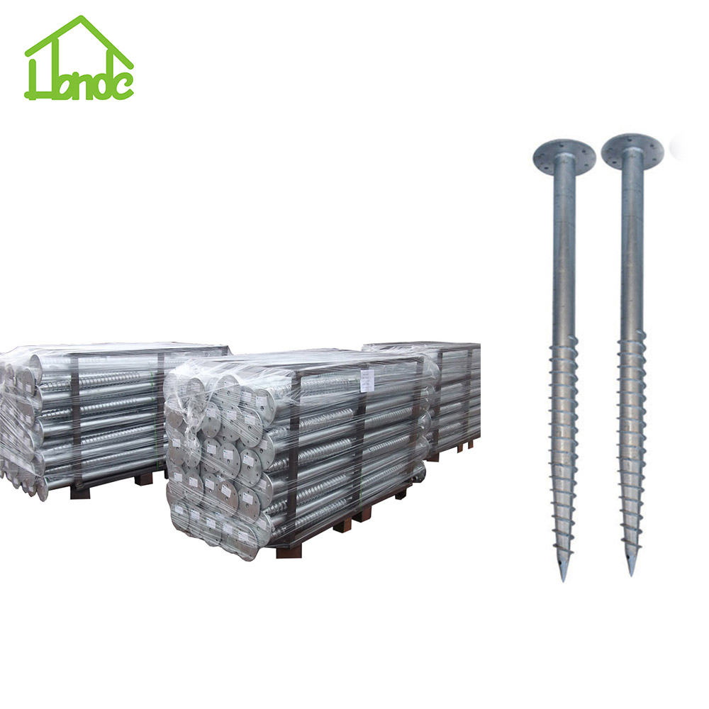 Different Sizes Carbon Steel Ground Screw Piles