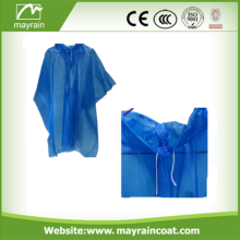 Emergency Disposable Adult PE Rain Poncho