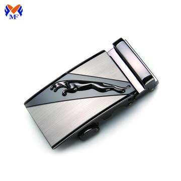 Custom logo brand auto lock belt buckle