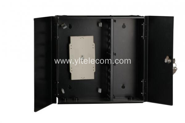 24 Core Wall-mount Fiber Optic Cable Terminal   Enclosure