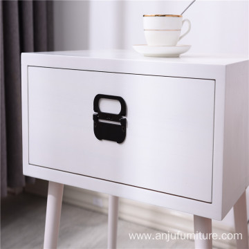 Custom bedroom furniture wooden bedside cabinet storage cabinet