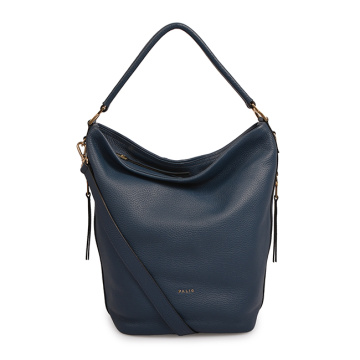 Top Quality Leather Hobo Bags With Zipper Closure