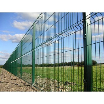 Best Price Welded 3D Garden Fence Panel
