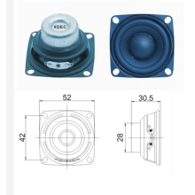 10 Years for Wireless Subwoofer Full range 52mm 8ohm 5w loudspeaker export to Samoa Manufacturer