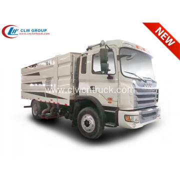 2019 New JAC medium sweeper truck for sale