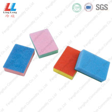 China New Product for Sponge Kitchen Cleaning Pad Colorful Kitchen Cleaning Sponge Pad export to Spain Manufacturer