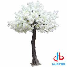 White and Pink Artificial Flower Tree