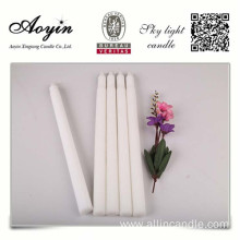 Leading for China Angola Candle, White Candle With Plastic Bag for Church & Wedding Decoration factory Pray use pure wax white tapered candle export to French Guiana Importers