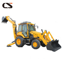 Hydraulic control 4*4 driving Backhoe Wheel loader