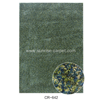 Microfiber Carpet With Mix Color
