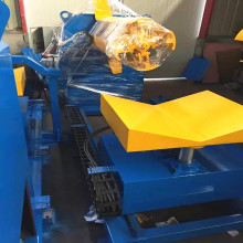 5ton hydraulic decoiler with car