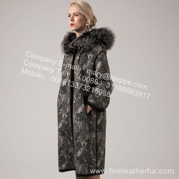 Mink Fur Overcoat For Women In Winter