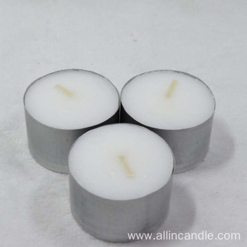 23g white tealight candle 8hrs wax candle