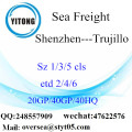 Shenzhen Port Sea Freight Shipping To Trujillo