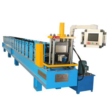 Seamless roofing gutter roll forming machine